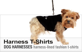 Dog T-Shirt Harnesses