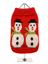 Snowman Sweater - Can there be anything more seasonal than this fantastic retro Snowman sweater, it's fun, it's warm, it's stylish and can be worn right through the Winter months, though ideal for Christmas day. So get in the mood with our fun and funky sweater and make this Christmas one to remember.