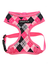 Pink Argyle Harness - Our Pink Argyle Harness checked Harness is a traditional Scottish design which represents the Clan Campbell of Argyll in western Scotland. It is stylish, classy and never goes out of fashion. Used for kilts and plaids, and for the patterned socks worn by Scottish Highlanders since at least the 17th...