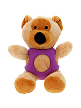 Brown Bear Ball Toy - The body of our Brown Bear Ball Toy is covered with a hard rubber 'waistcoat' and is a great interactive toy for playing 'fetch'. He is quite robust and will stand up to a lot of chewing and biting. The rest of him is cuddly and colourful with an added squeak to entertain your pet! This toy will pro...
