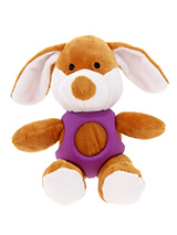Puppy Dog Ball Toy - The body of our Puppy Dog Ball Toy is covered with a hard rubber 'waistcoat' and is a great interactive toy for playing 'fetch'. He is quite robust and will stand up to a lot of chewing and biting. The rest of him is cuddly and colourful with an added squeak to entertain your pet! This toy will prov...