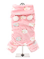 Baby Pink Counting Sheep Onesie